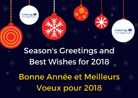 season greetings and a happy new year from everyone at interreg france channel england