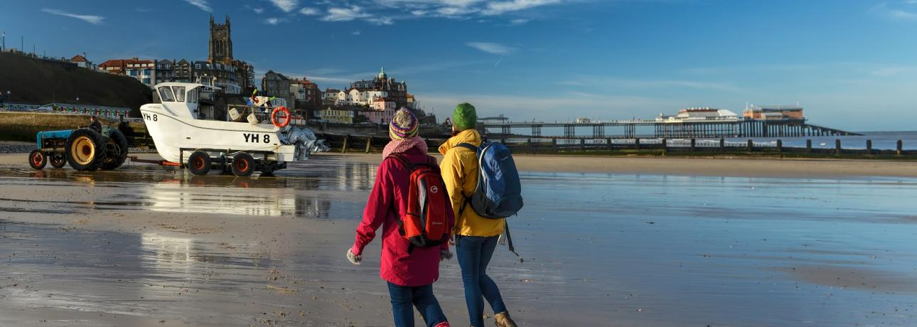 Experience photo Cromer and Overstrand beach Trail24