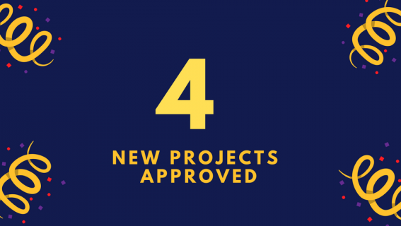 4 new projects